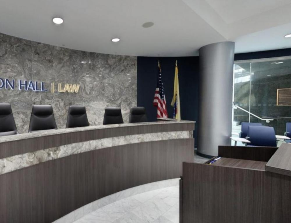 DeCotiis Law Moot Courtroom