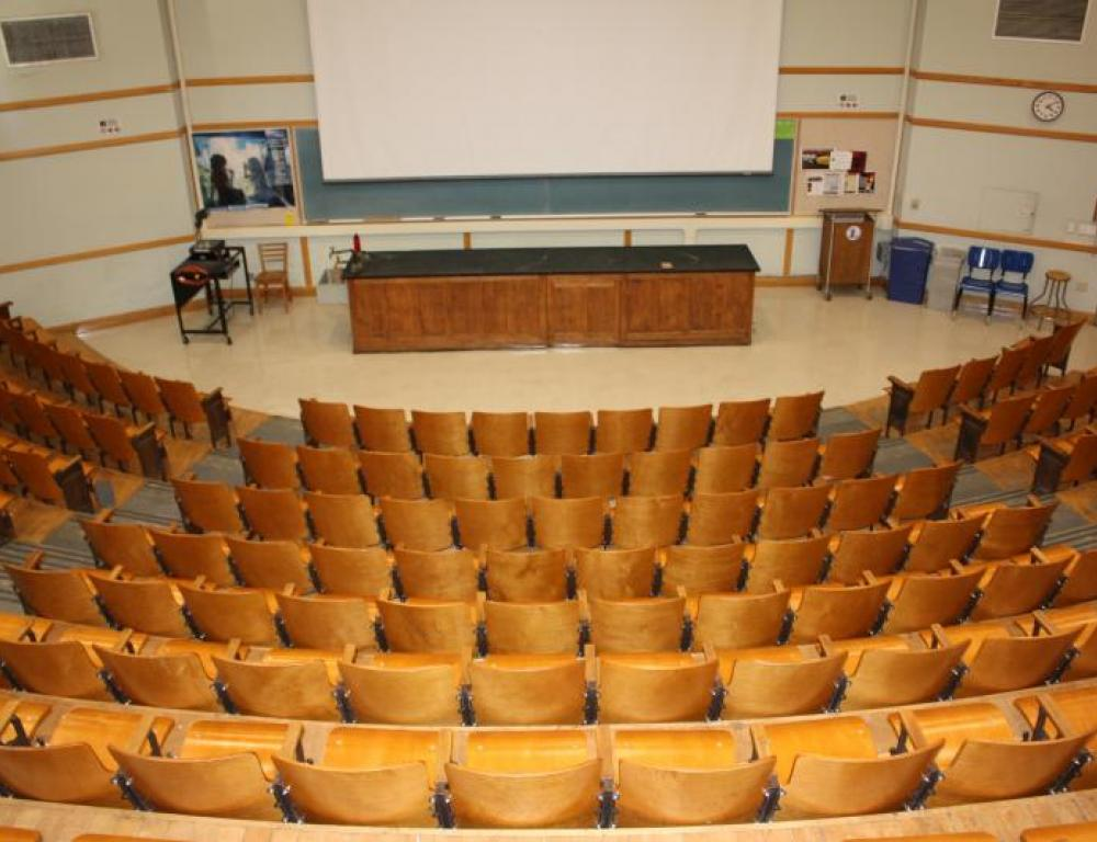 Our lecture halls are versatile enough to accommodate any group.