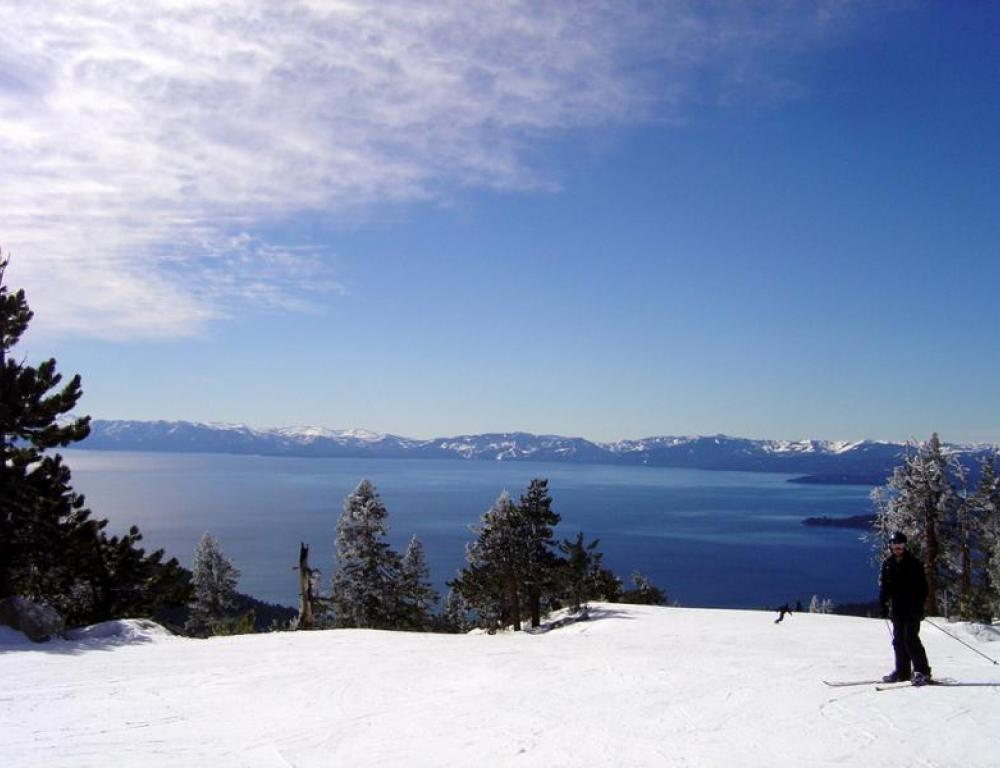 Local Attraction: Lake Tahoe is a vacation destination and only a short drive from Davis (Photo via Flickr CC)