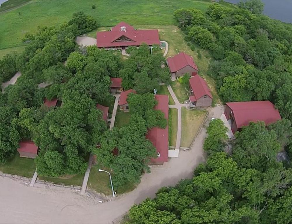 Aerial View of Stiklestad Lodge
