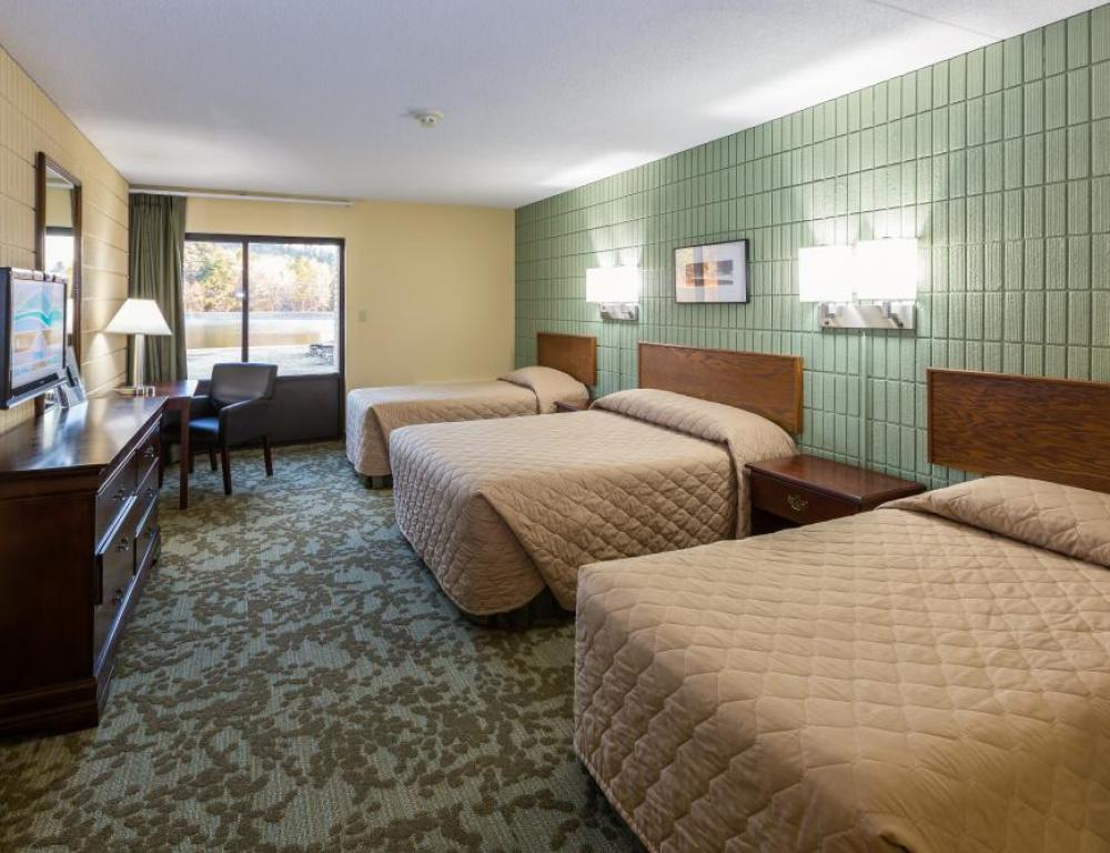 We can accommodate up to 428 guests in our 3 lodging units.