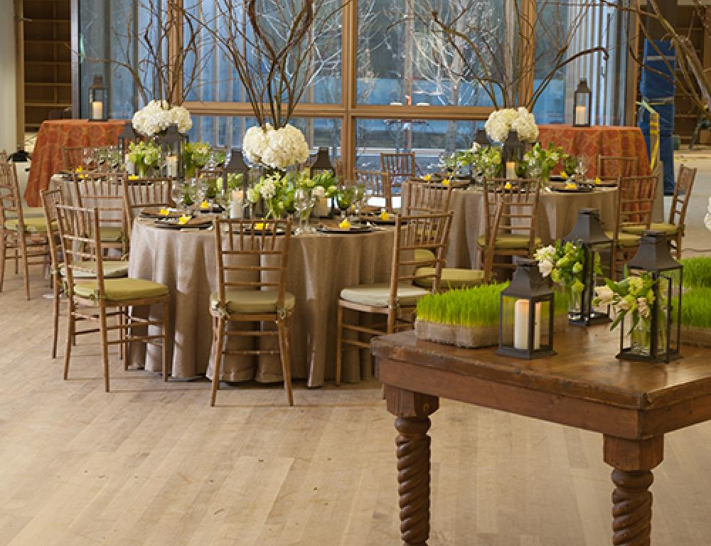 Dining in the Lower Lobby
