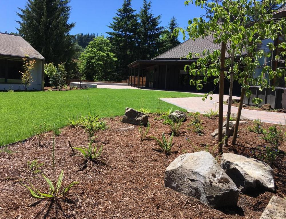 The newly renovated Miller Garden brings you even closer to nature for your special event.
