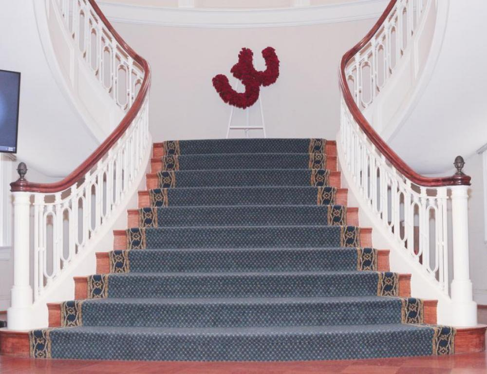 Stairway from the First Floor to the Ballroom