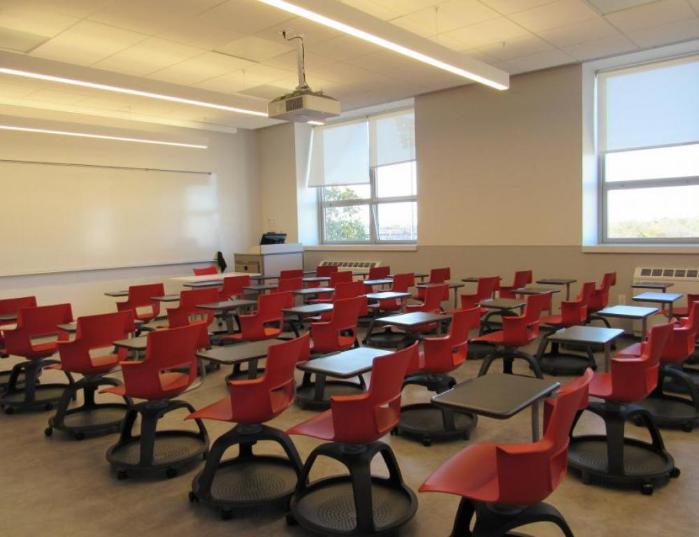 Classroom in Marillac Hall