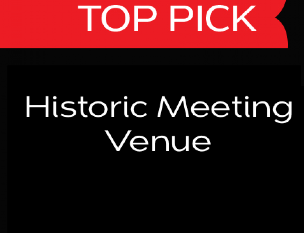 Top Pick - Historic Meeting Venue