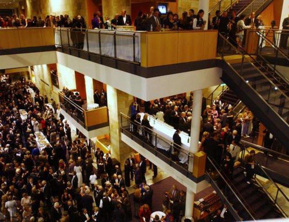 Mondavi Center Lobby - A busy night