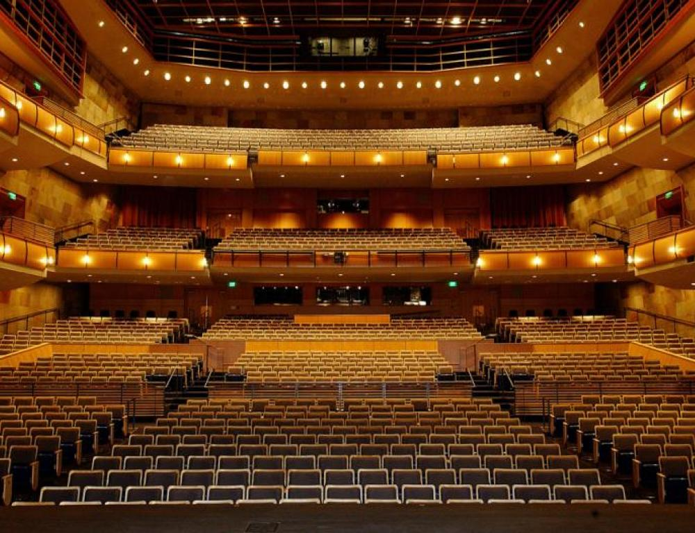 Mondavi Center Jackson Hall - A superb performance space for all types of events from concerts and Broadway productions to lectures and commencements