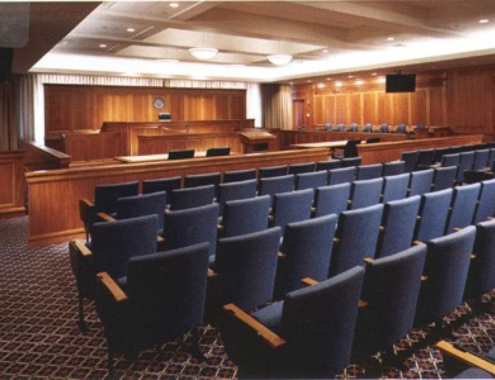 Moot Courtroom, Sargent Hall, 120 Tremont Street