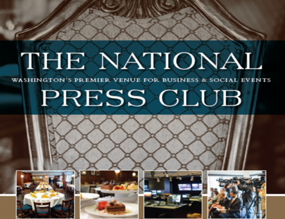 Welcome to The National Press Club!
