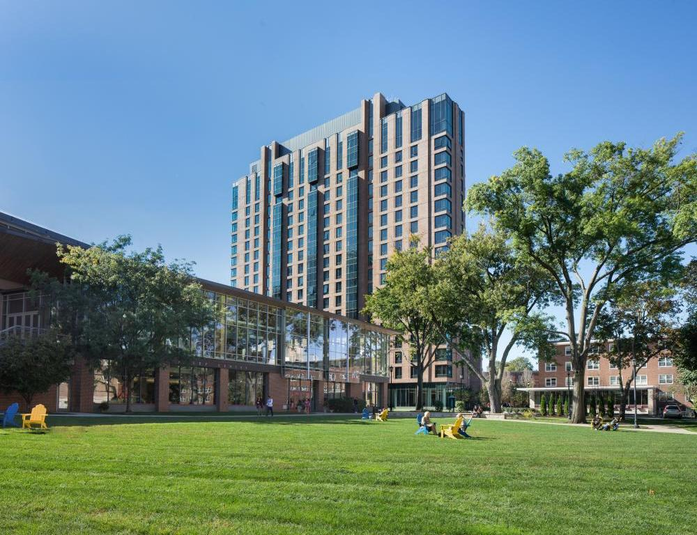 Our beautiful 17-acre campus lies in the heart of Boston