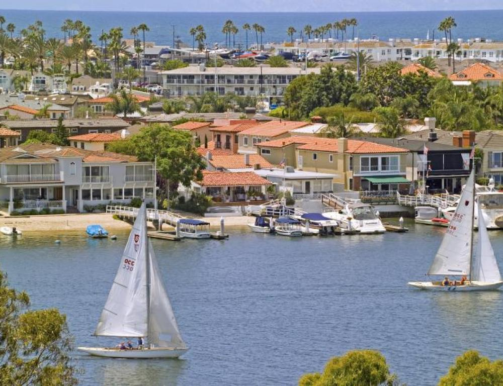 Newport Beach is Located 10 miles from the University