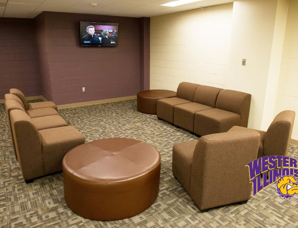 Two Lounges on Each Residence Hall Floor