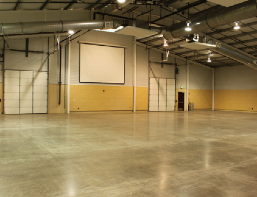 12,500 sq ft hall in the McKee Building