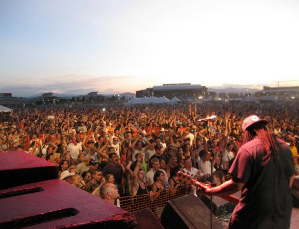 Outdoor concerts and festivals