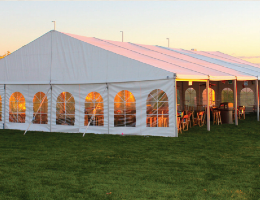 Outdoor receptions and corporate events