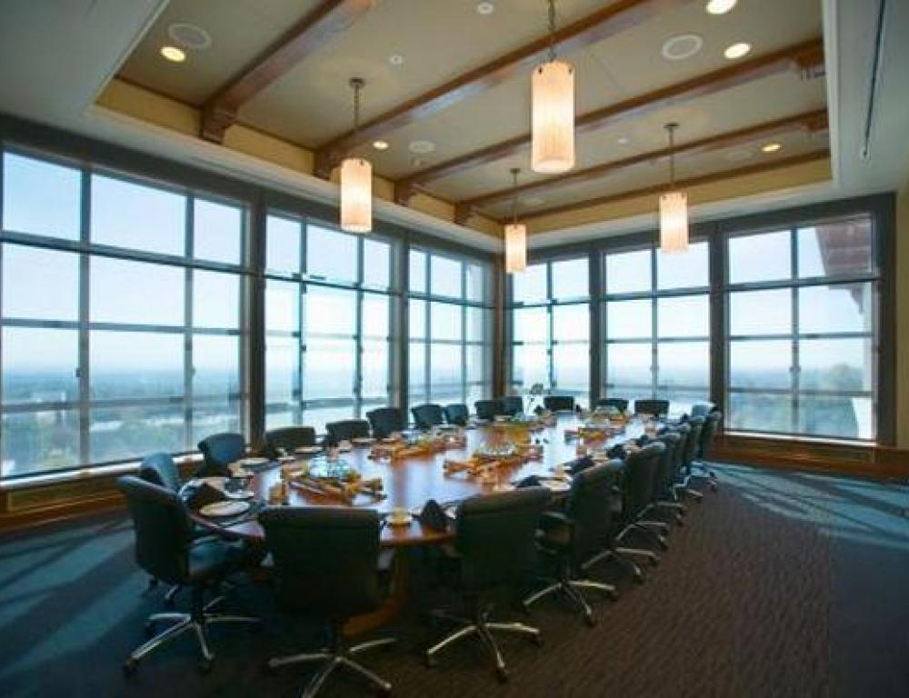 The President's Dining Room is Adjacent to the Ballroom and is the perfect location for your next Board Meeting