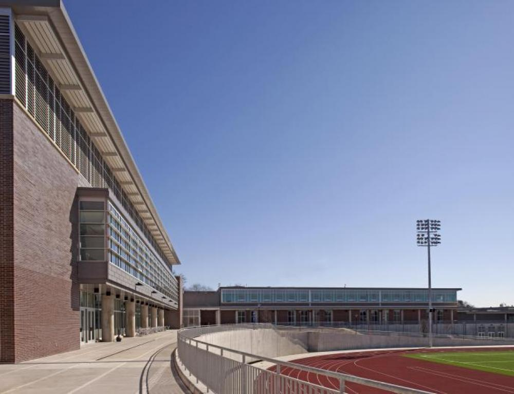Physical Education Complex, Outdoor Concourse and Turf Field