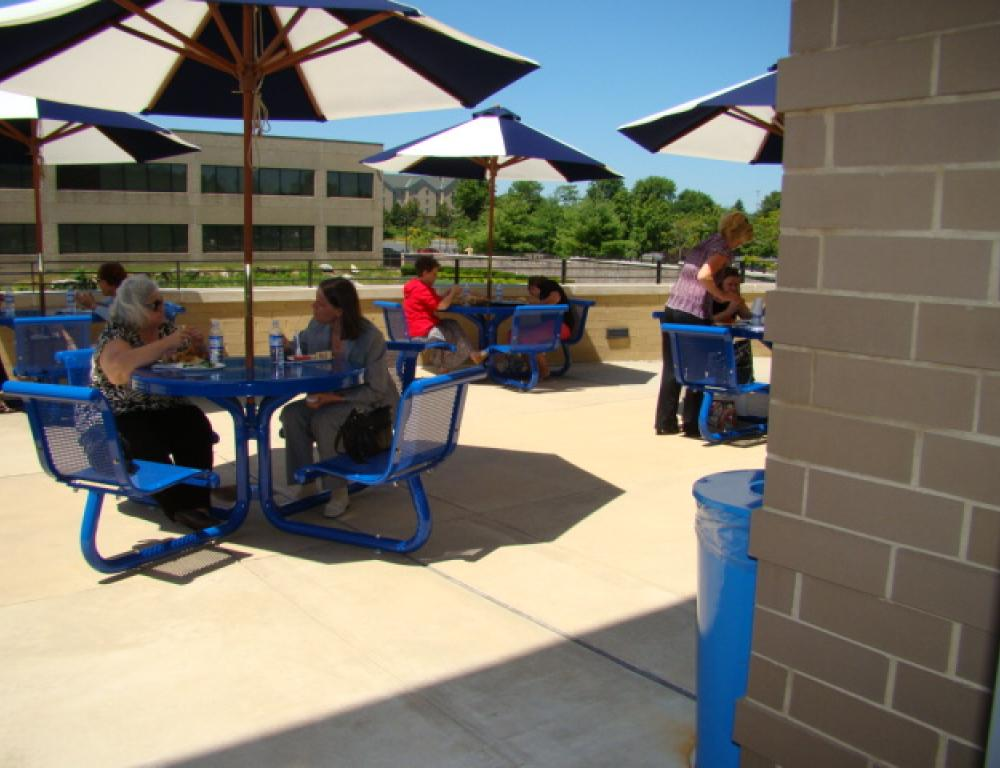 Conference Center Patio