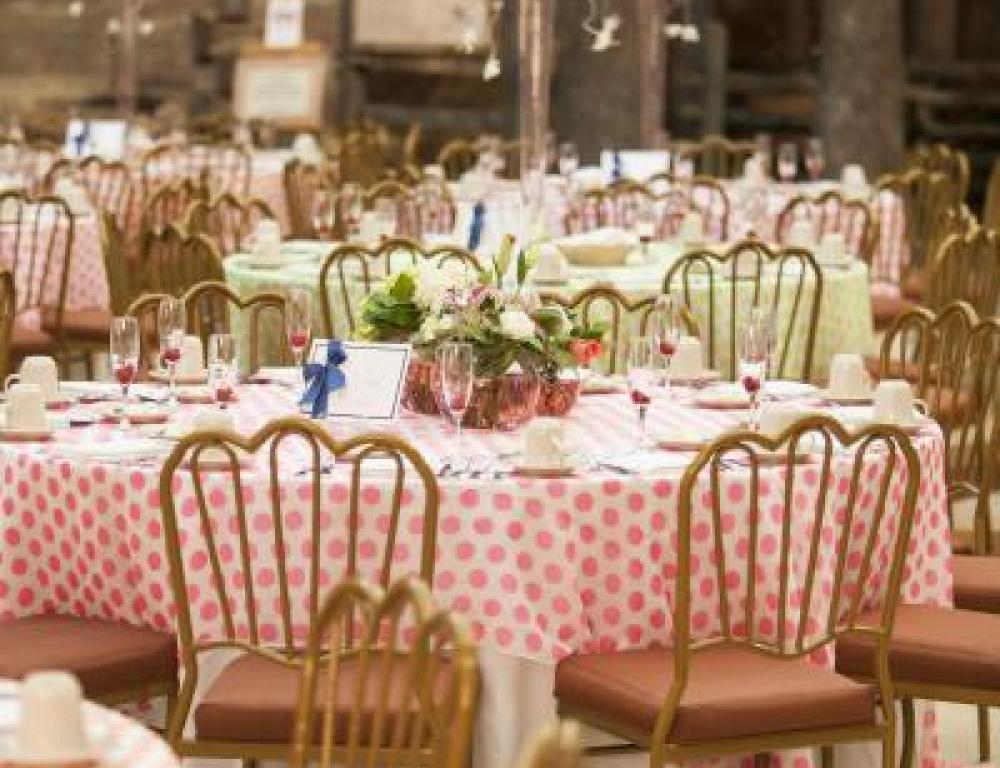 The Plaza is a bright and beautiful site for wedding receptions. (Photo by Matt DeBackere Photography)