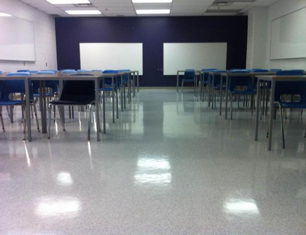 Smaller Classroom with a capacity of 50 people