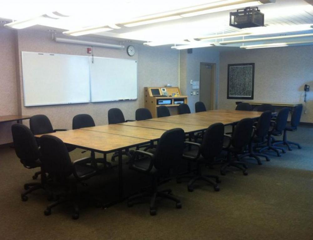 One of our many conference rooms.