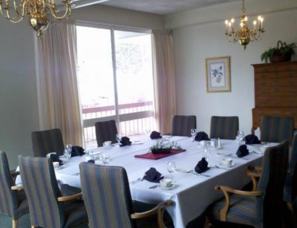 Private Dining Room of Willits-Hallowell