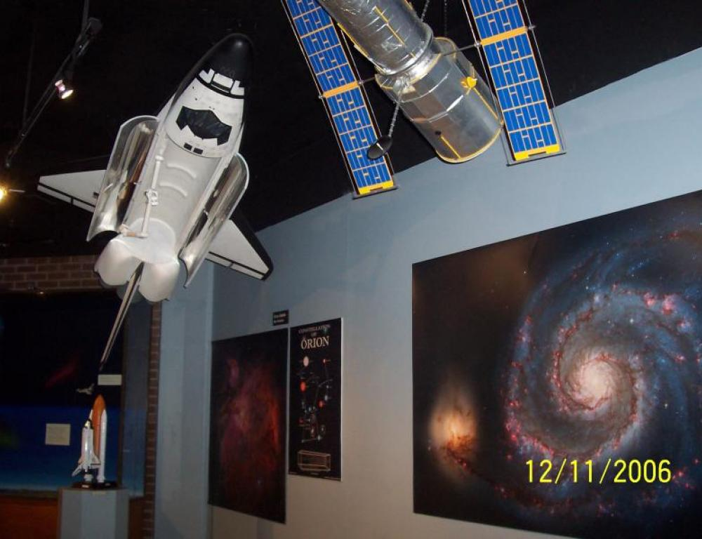RVCC Planetarium Shuttle Exhibit