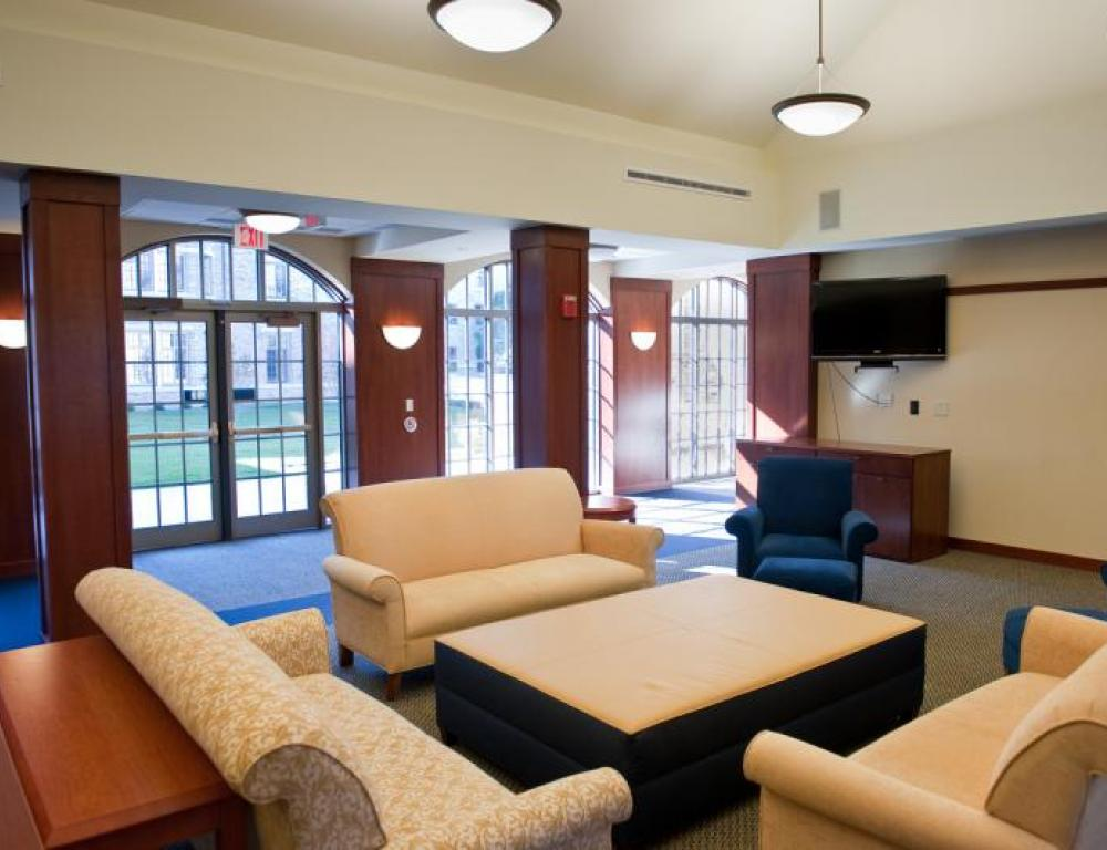 Ryan Hall lounge