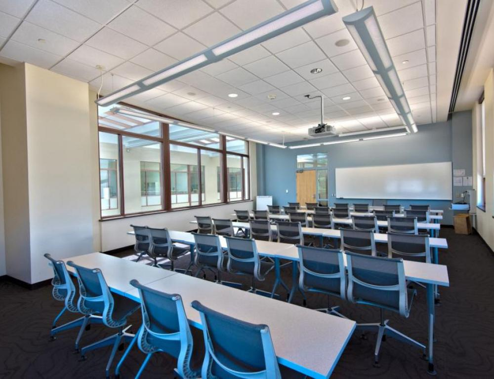 Classroom space can accommodate anywhere from 6 to 300+ guests.