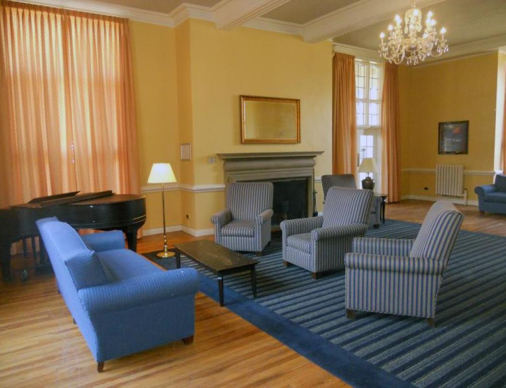 Relax with new friends in the comfort of your residence hall
