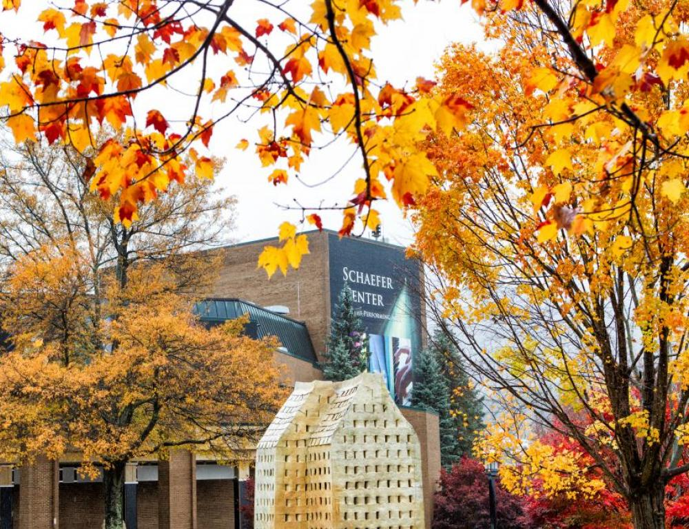 Campus is beautiful all months of the year, but fall is beloved in the High Country. Schedule your event in September or October to take advantage of this season!