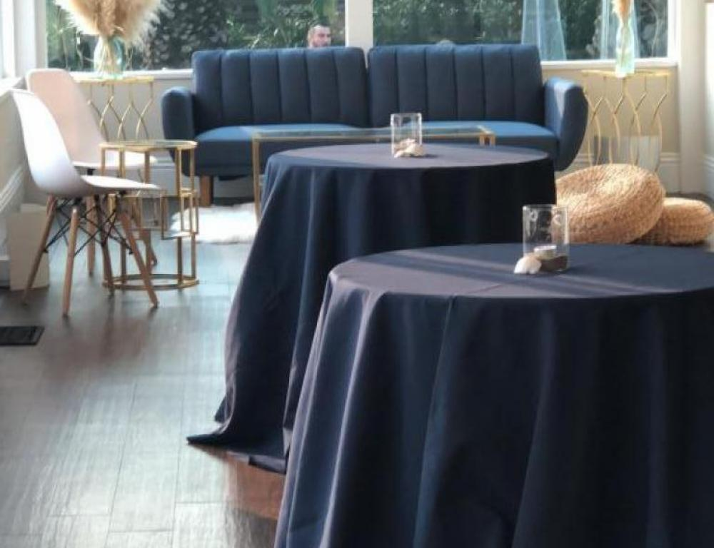 Short Cocktail Tables + Lounge