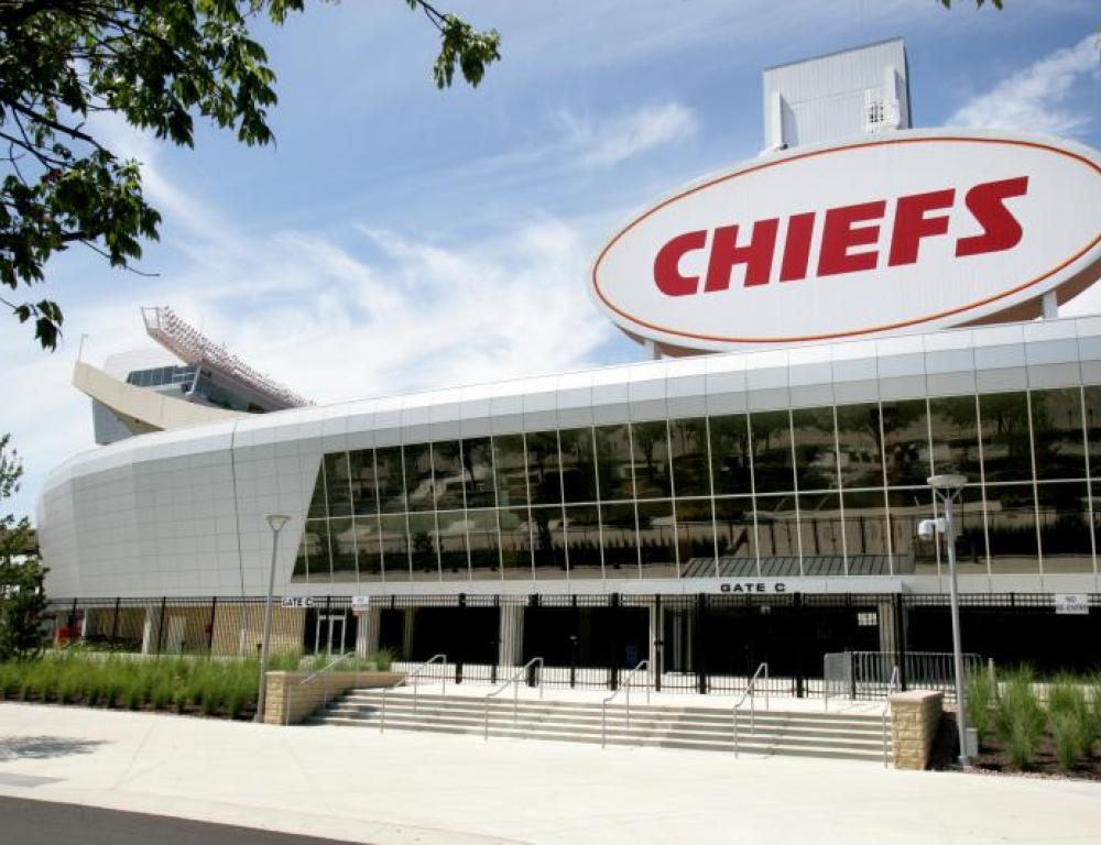 Beautiful Arrowhead Stadium!