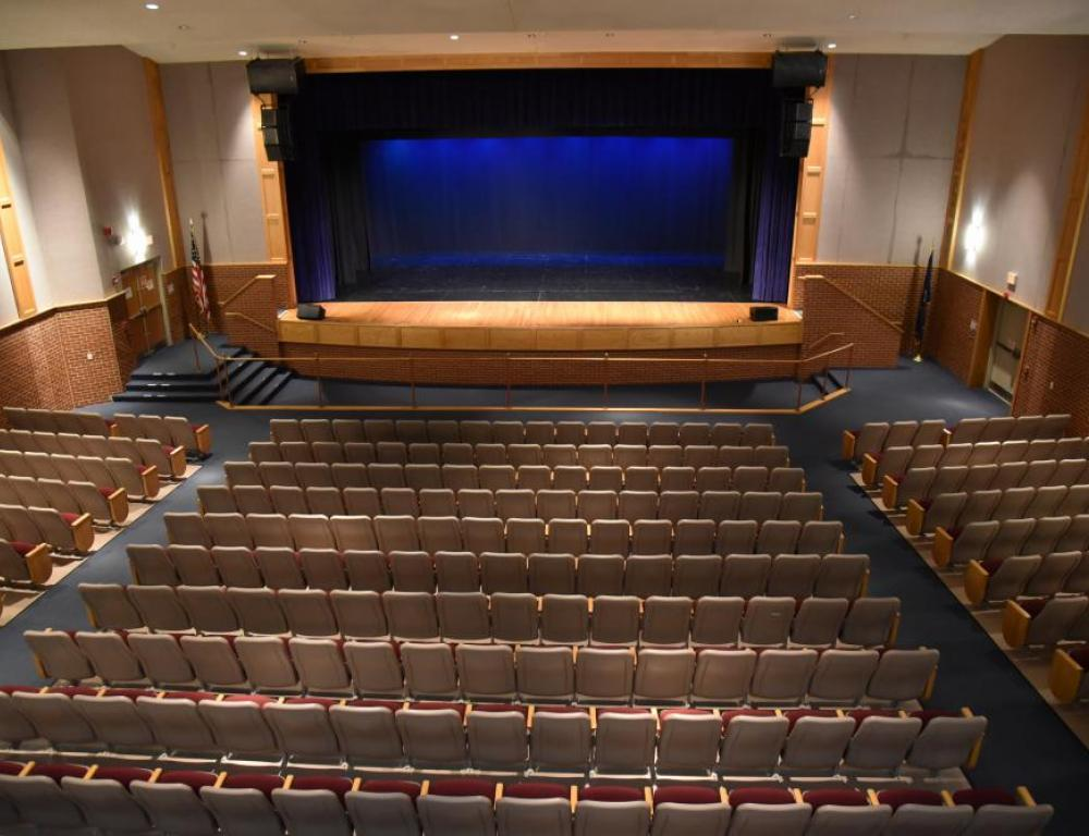 Science Hall Theater Stage