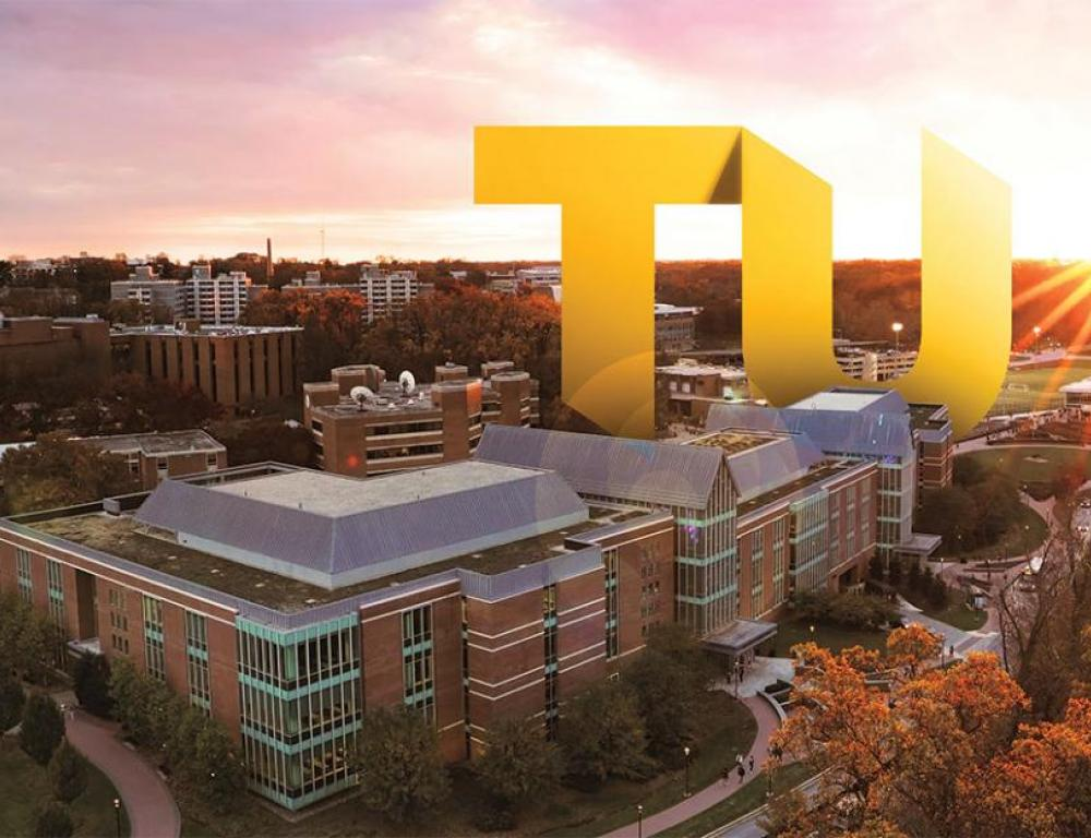 Another beautiful day at Towson University!