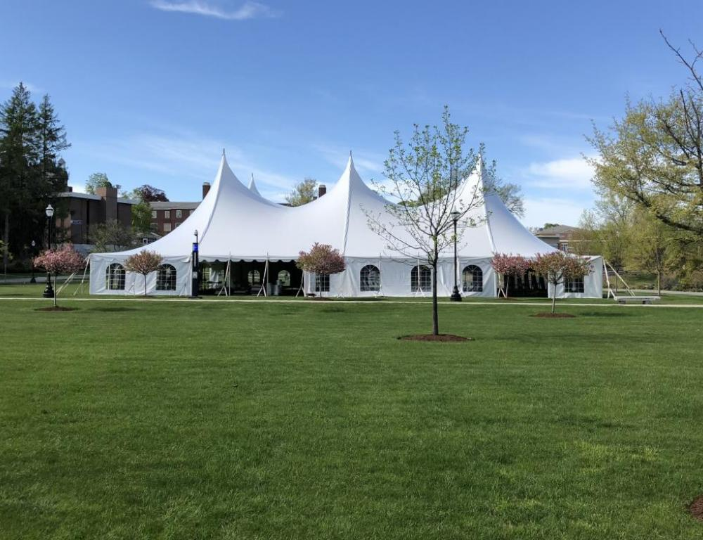 Tent on Campus Green