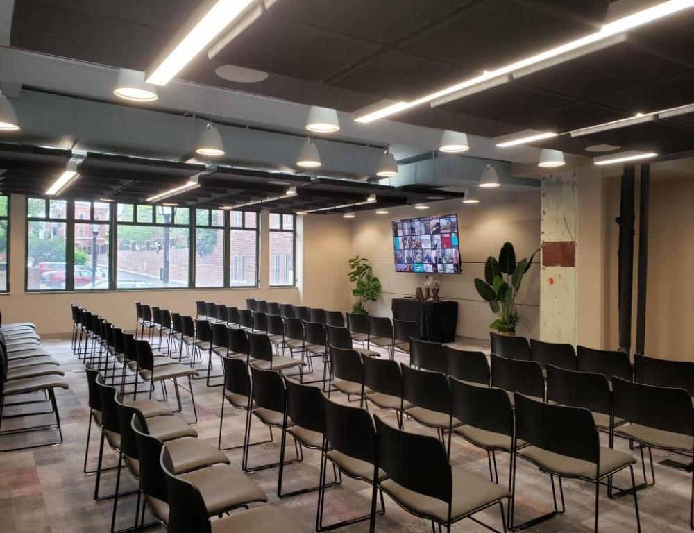 Theater Style Conference Room