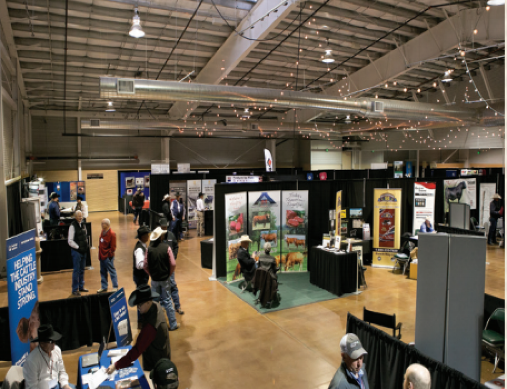 Tradeshow in Exhibit Hall