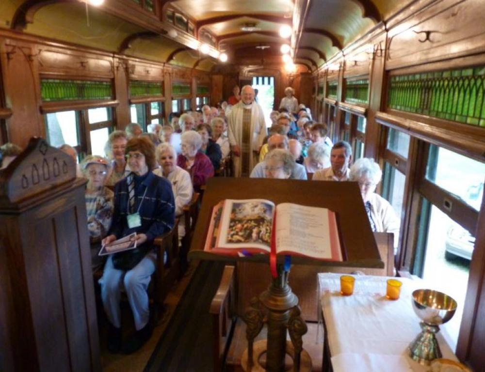 Unique spaces, aside from 50 meeting rooms, include a Wild West era train car with seating for 60