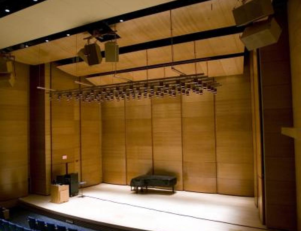 Distler Performance Hall at Tufts University