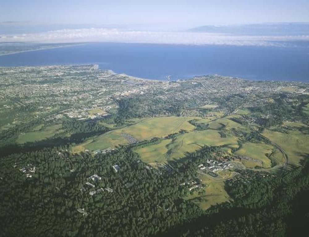 Aerial Photo UC Santa Cruz