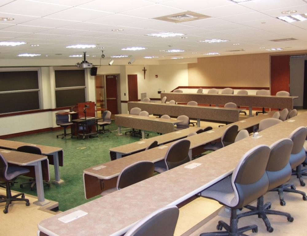 Bartley Hall Classroom