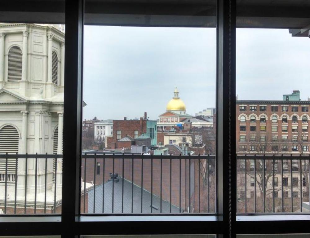 View from Conference Room, Sargent Hall, 120 Tremont Street