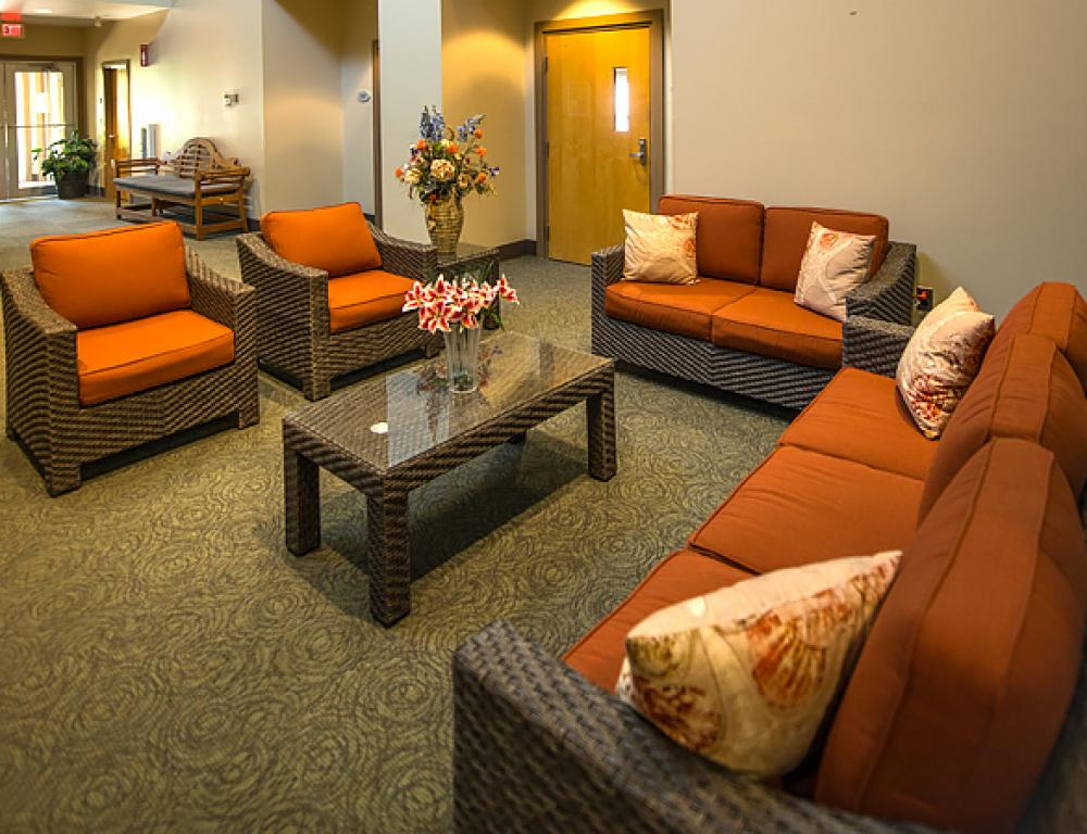 Take a break in one of our lounges.