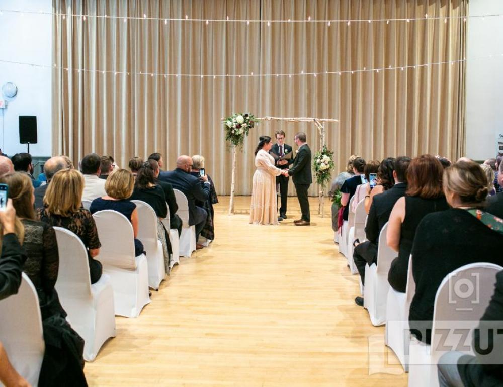 Wedding Ceremony in Main Hall