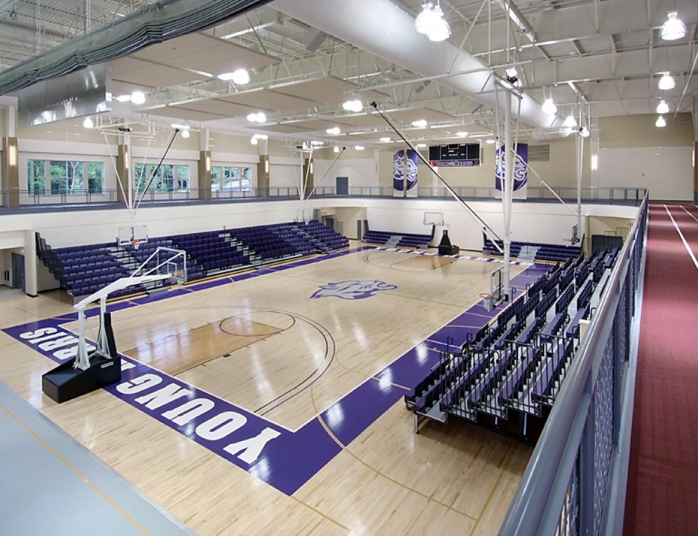 YHC Recreation Center - Basketball Court