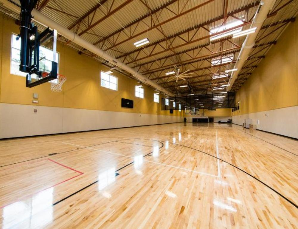Recreation and Wellness Center - Gym Courts