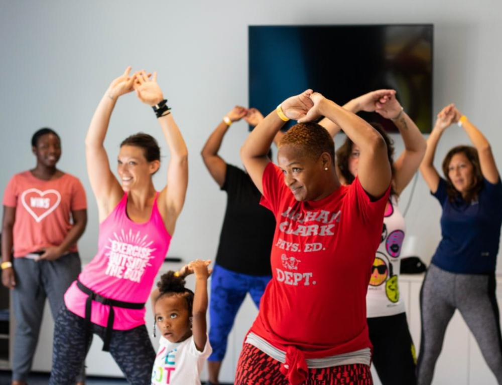 Zumba in the Session Space