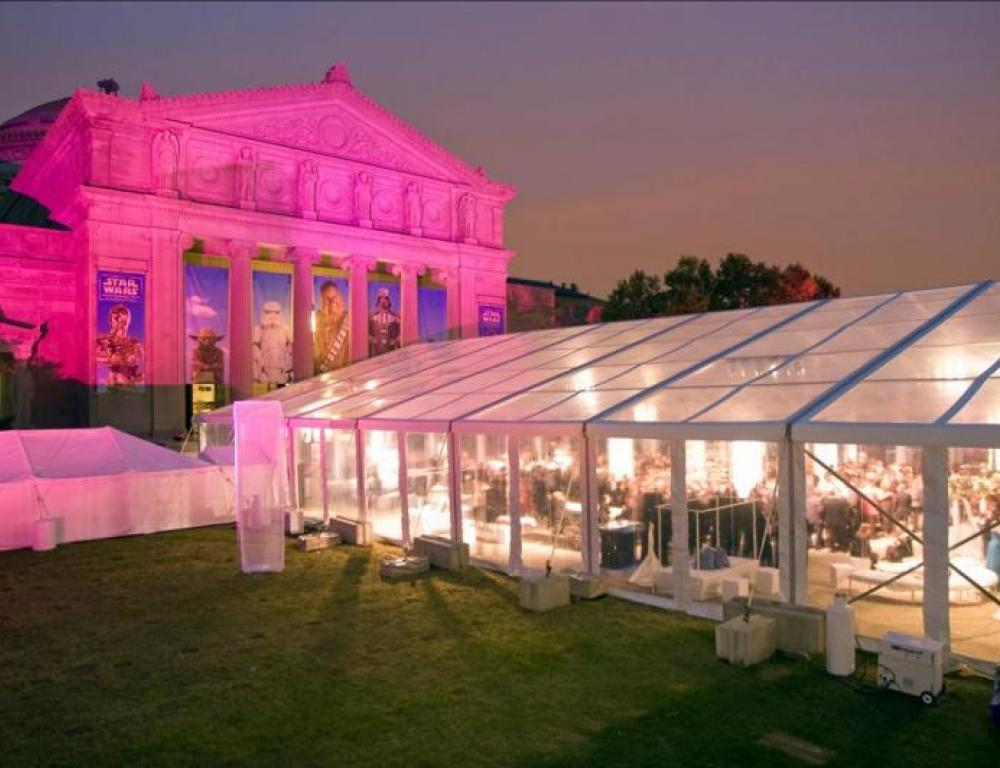 Tented Dinner on the North Lawn